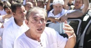 告発後のジョアン・デ・デウス氏(Marcelo Camargo/Agência Brasil)
