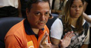 逮捕されたネヴェス市長(Tânia Rêgo/Agência Brasil)