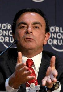 日産自動車前会長カルロス・ゴーン容疑者(World Economic Forum)