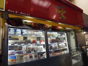 サーモンの卵の冷凍を売っているO PESCADOS PAOLAの棚(同社サイトより)