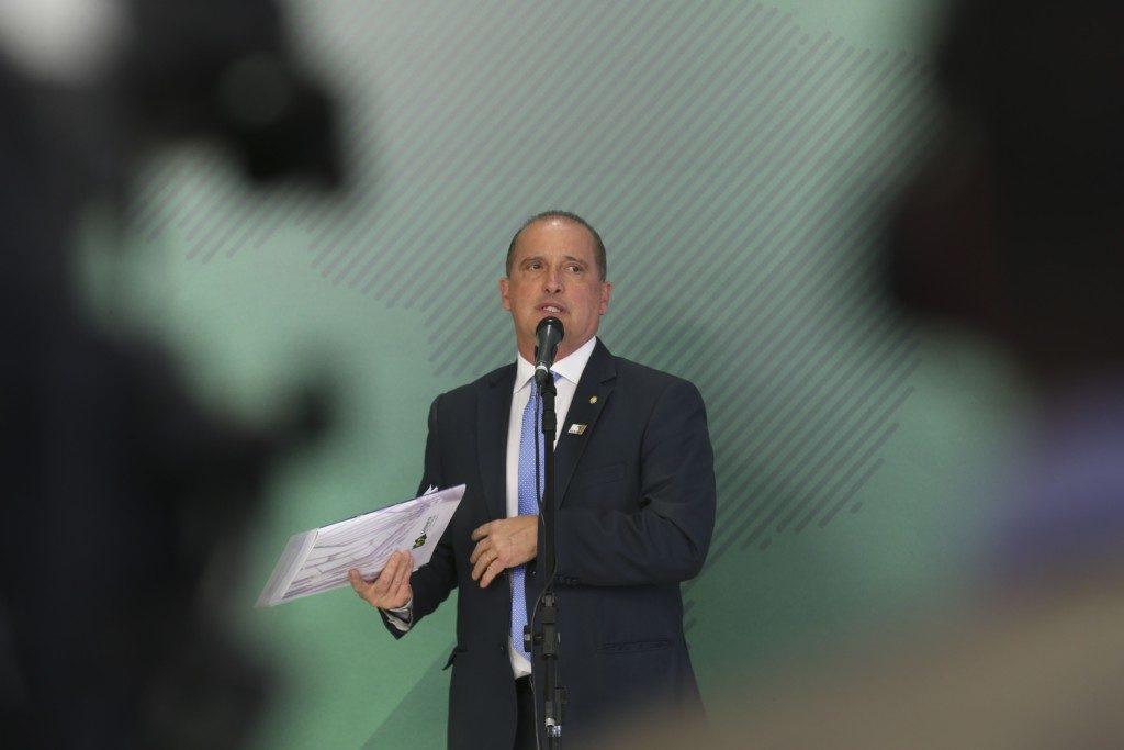 オニキス氏(Antonio Cruz/Agência Brasil)