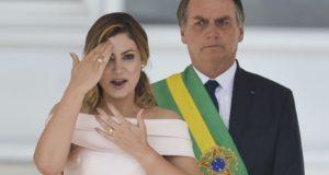 就任式でのミシェレ氏(Marcelo Camargo/Agência Brasil)