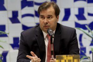 マイア下院議長(Wikson Dias/Agencia Brasil)
