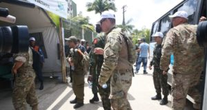 マドゥーロ体制から離反するベネズエラ軍人は日に日に増えてはいるが、まだ全体の1%にも満たない(参考画像・Antonio Cruz/Ag. Brasil)