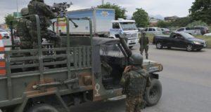 昨年2月から12月いっぱいまで、リオ州は軍の統治下にあった(Vladimir Pratanow/Ag. Brasil)
