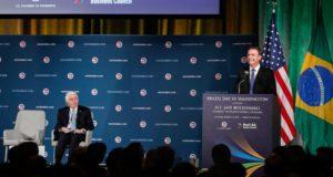 18日のボウソナロ大統領(Alan Santos/PR)