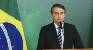 4日のボウソナロ氏(Antonio Cruz/Agencia Brasil)