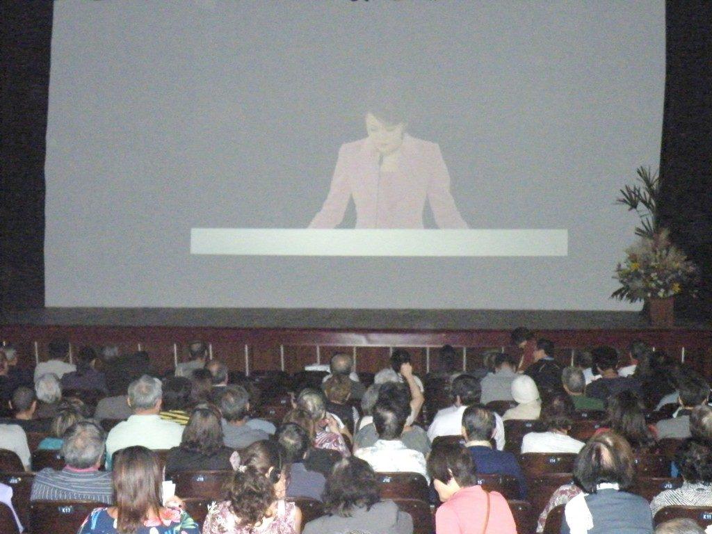 サンパウロ市講演会の様子