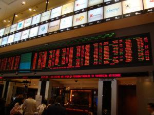 サンパウロ市株式取引場内の様子(参考画像・Caliel Costa)