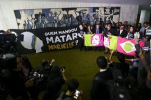 下院で持たれた追悼集会(Marcelo Camargo/Agência Brasil)