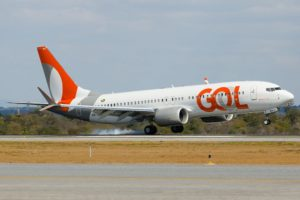 GOL社が最初に購入した737Max8型機(Divulgação)