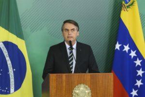 ブラジルのボウソナロ大統領(Antonio Cruz/Agencia Brasil)