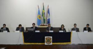 テメル氏逮捕に関する21日の記者会見(Tomaz Silva /Agencia Brasil)