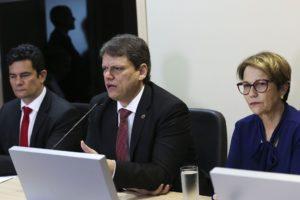 インフラ相のタルシジオ・フレイタス氏(Antonio Cruz/Ag. Brasil)