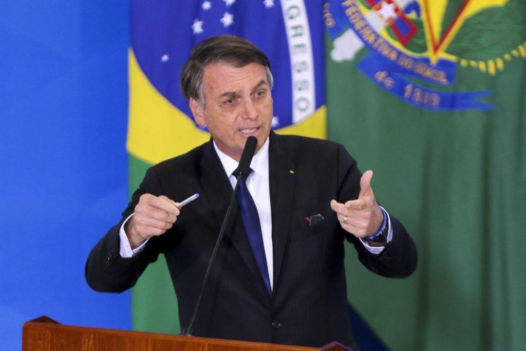 7日のボルソナロ大統領(Wulson Dias/Agencia Brasil)