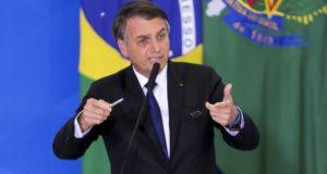 7日のボウソナロ大統領(Wulson Dias/Agencia Brasil)