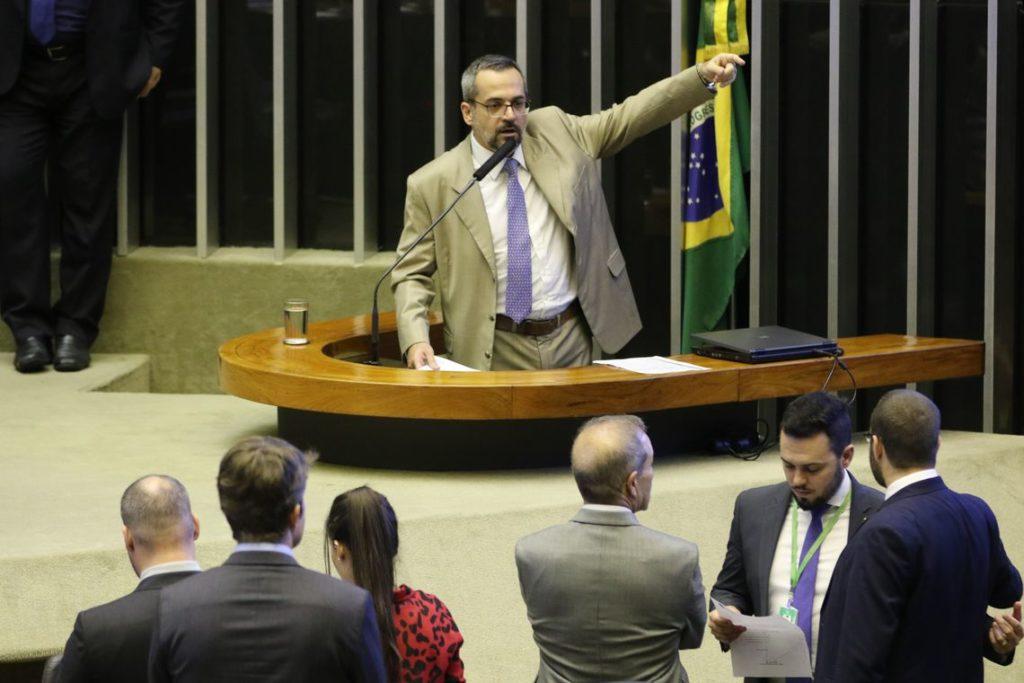ウェイントラウビ教育相(Fabio Rodrigues Pozzebom/Ag. Brasil)