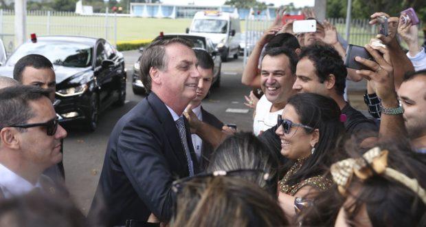 まだ民衆からの支持は失っていないと信じている大統領だが…(Antonio Cruz/Agencia Brasil)