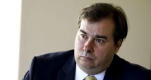ロドリゴ・マイア下院議長(Marcelo Camargo/Ag. Brasil)