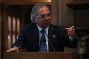 パウロ・ゲデス経済相(Marcos Correa/PR)