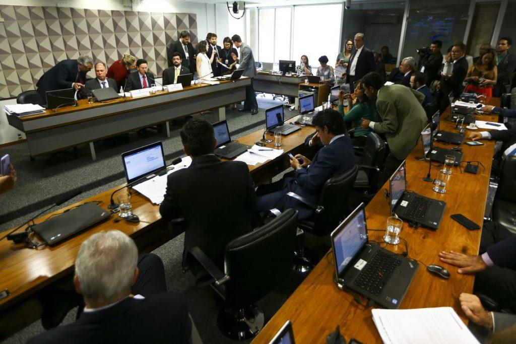上下両院合同委員会の様子(Marcelo Camargo/Agência Brasil)