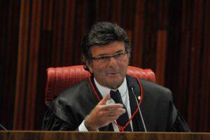 最高裁のフクス判事(Fabio Rodrigues Pozzebom/Agência Brasil)