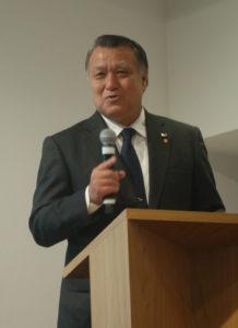 日本サッカー界を語る田嶋会長