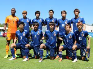 14回目の出場となる日本は、初の決勝進出だ(大会公式ツイッター@TournoiMRevelloより)