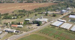 サンパウロ州イペウナ市の岡田茂吉研究所とコーリン農畜産社