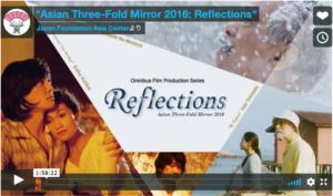 公開されている「アジア三面鏡2016:リフレクションズ」再生画面