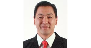 喜納ジョルジ サントアンドレー日系連合会会長
