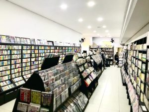 フォノマギ竹内書店 店内