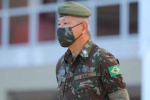 松田ルイ・ユタカ陸軍中将(Comando Militar do Planaltoサイト)
