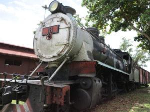 廃墟となったマデイラ・マモレ鉄道のなごり。ポルト・ヴェーリョ市で