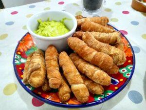 『Nossa Janela』のベネズエラ料理テケーニョス
