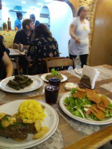 2020年2月にシリア人難民が新たにオープンしたアラブ料理店