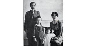 日系メディア史(11)ブラジル時報の黒石清作とその家族(「南米写真帳」、1921年、永田稠より)