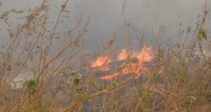 9月16日の火事現場