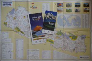 ネパール観光年「ビジット2020」向けのネパールの地図とガイドブック