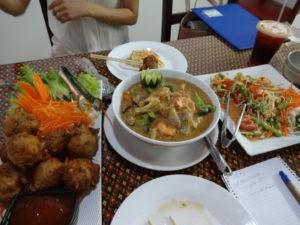 タイ料理店THAI E-SANの料理