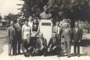 1970年3月当時の記念写真