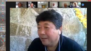 記念誌出版を熱く語る本田副会長