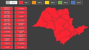サンパウロ州の最新規制の図(Plano SP)