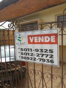 サンパウロの不動産会社「アル・バイト」の看板。バイトはアラビア語で家の意味