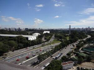 サンパウロの大通り