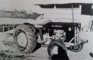 韓国移民が入植した農場での一こま(『Imigração Coreia Brasil 45 anos』より)