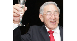 2013年12月、80歳誕生日の際の堀井さん