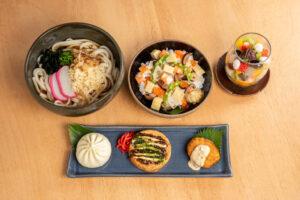 40食限定で販売する食体験セットの料理内容イメージ(JHSP提供)