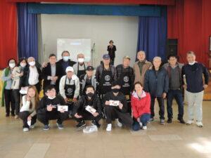 イベントを行ったモジ中央日本人会の方々