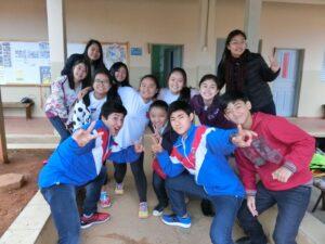 JICA生徒研修聖南西地区選考会(提供写真)
